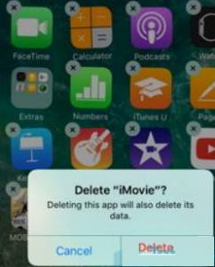 Delete Apps on iPhone 7/7 Plus