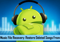 recovery deleted songs from android