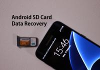 How to retrieve data from encrypted SD card