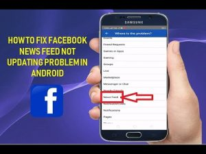 Facebook News Feed Not Updating Issue